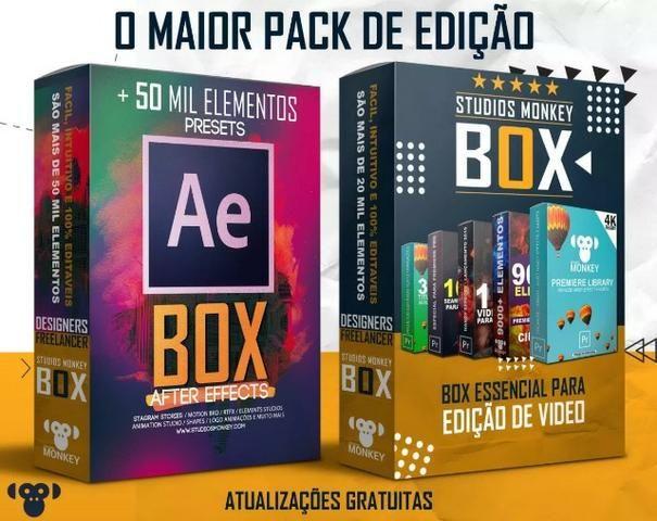 Pacote Designer Gráfico Premiere e After Effects + Brinde Estampas Premium Corel e Ps
