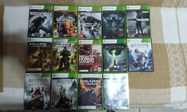 14 Jogos de Xbox 360 Originais - Foto 2