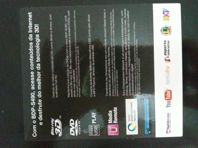 Blu ray 3D sony BDP S490 - Foto 4