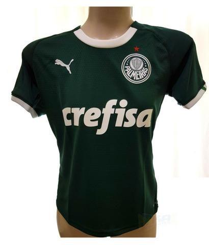 534387ed824 Camisa Puma Palmeiras I 19 20 sn verde Feminina ou Masculina ...