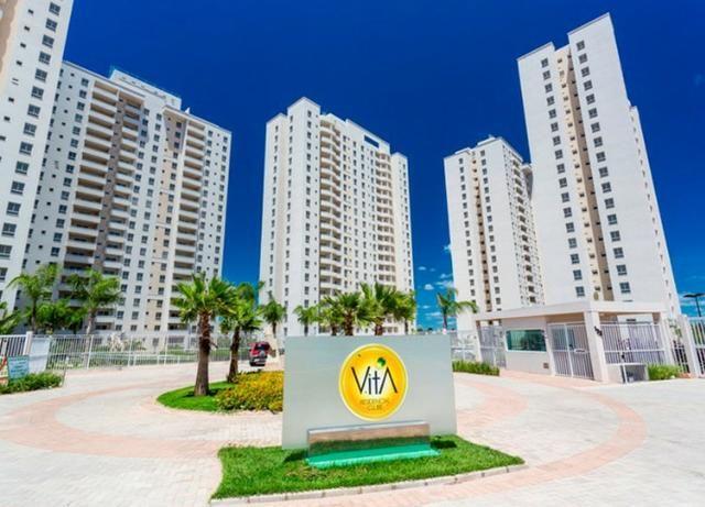 Vita Residencial Clube com 2 quartos sendo 1 suite / Moveis planejados na cozinha - Foto 6