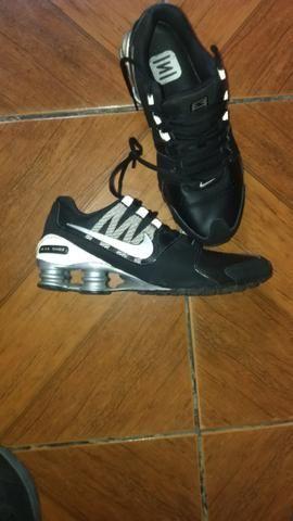 b39784508e9 Nike shox preto e cinza - Roupas e calçados - Jardim Alvorada