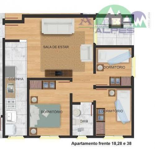 Apartamento residencial à venda, colônia murici, são josé dos pinhais. - Foto 13