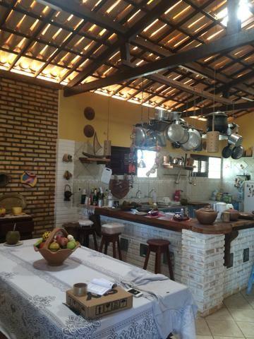 Excelente casa na praia da tabuba do morro branco Beberibe alugo 900 reais - Foto 19