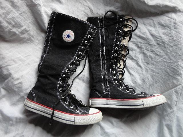 f65459b6aa6 Bota tênis All Star preta tamanho 36 - Roupas e calçados - Canoas ...