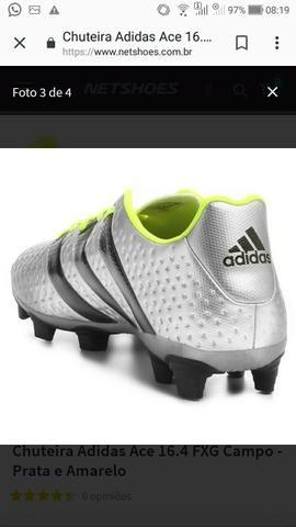 60c809eff8 Chuteira Adidas Ace 16.4 FXG Campo - Esportes e ginástica - Centro ...