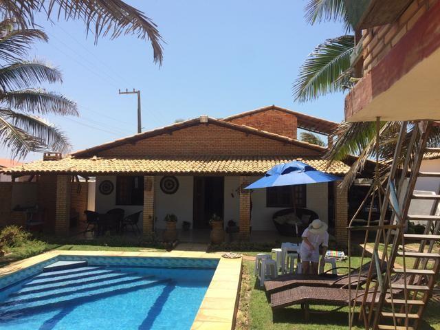 Excelente casa na praia da tabuba do morro branco Beberibe alugo 900 reais - Foto 12