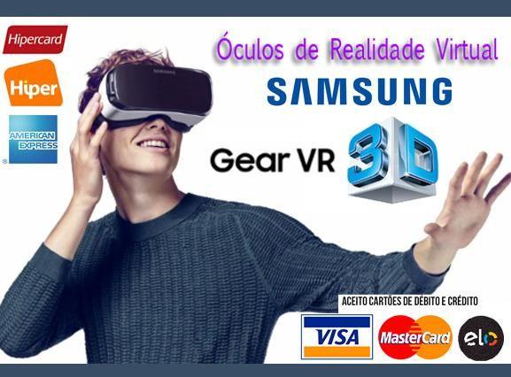 cd774ca1fbdc4 Óculos 3D Samsung Gear VR 360 Graus p  AP Samsung Galaxy A
