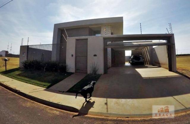 Vende-se casa com 150,41 m2 de laje, Bairro Green Ville ll ? Naviraí - MS - Foto 2