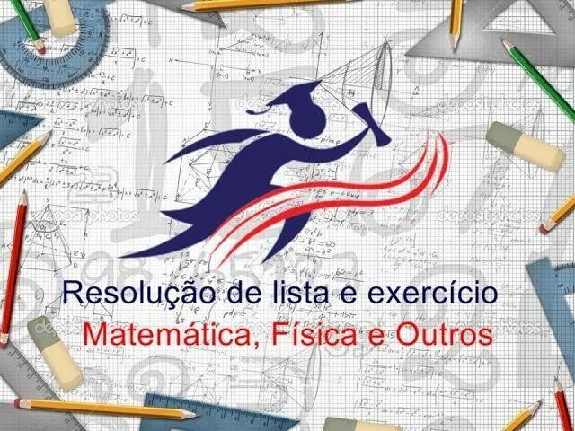 Resolução de listas e exercícios