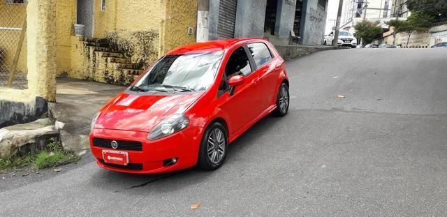 Fiat/ Punto sporting 1.8 2012 completo câmbio manual troco carro/moto