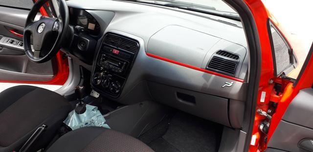 Fiat/ Punto sporting 1.8 2012 completo câmbio manual troco carro/moto - Foto 9