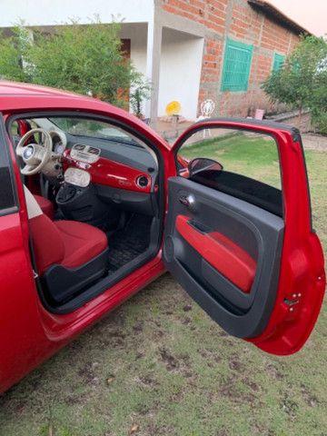 Fiat 500 2013 1.4 Flex Manual Completo - Foto 9