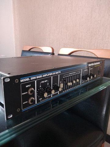 Amplicador Hartke model 2000 + Caixa - Foto 2