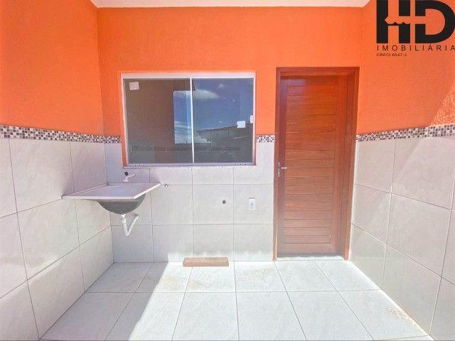 Bairro planejado Portal do Sol, terreno de 200 metros, 68 m2, lajeada, 2 quartos, 1 suíte - Foto 8