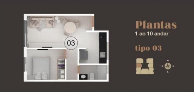 Apartamento à venda com 2 dormitórios em Bancários, João pessoa cod:006095 - Foto 3