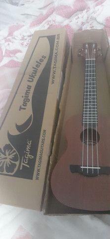 Vendo ou troco por bike violao e ukulele  - Foto 5