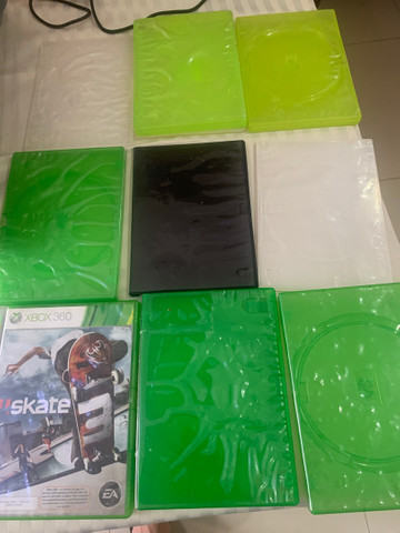 18 capas de jogo de Xbox  playstation dvd