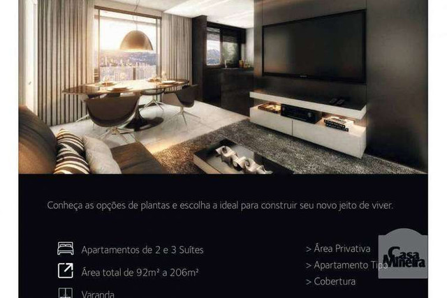 Martius Milton - 92 a 125m² - 2 a 3 quartos - Lourdes, Belo Horizonte - MG - Foto 10