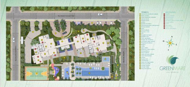 Cobertura Greenmare - Altiplano - 285m² - 03 Sts + DCE - Área privativa - Excelente vista - Foto 6