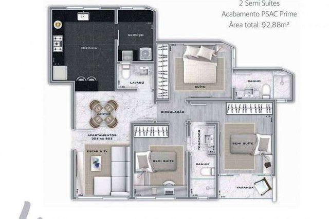 Martius Milton - 92 a 125m² - 2 a 3 quartos - Lourdes, Belo Horizonte - MG - Foto 11