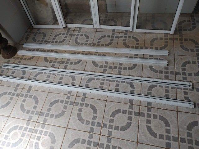 Porta de Vidro, Vidro, Aço, Porta de Vidro com Acabamento Metálico