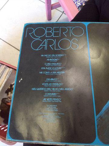 Vinil Roberto carlos - Foto 3