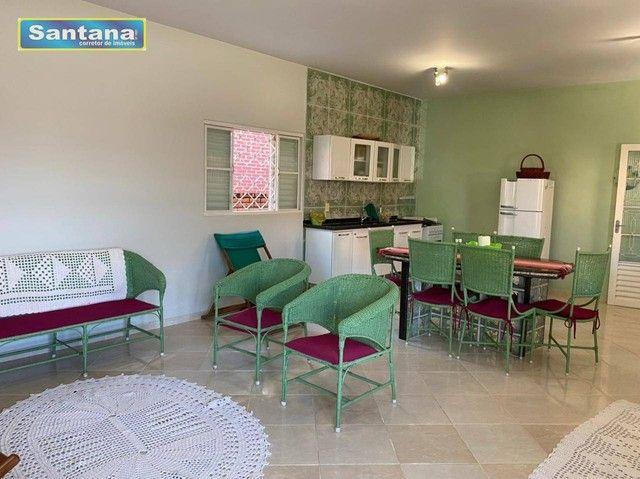 Chale de Laje com 4 dormitórios todos suites, à venda, 165 m² por R$ 250.000 - Mansões das - Foto 12