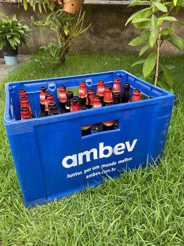 Caixa de cerveja com casco (completa) - Foto 3
