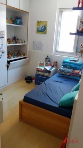 Apartamento com 3 dormitórios à venda, 90 m² por r$ 390.000 - jardim aquarius - são josé d - Foto 19