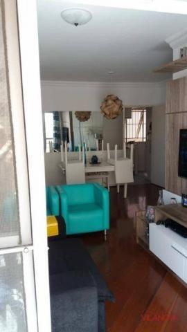 Apartamento com 3 dormitórios à venda, 90 m² por r$ 390.000 - jardim aquarius - são josé d - Foto 2