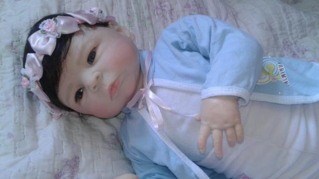 Bebê reborn molde Maylin pronta entrega - Foto 3