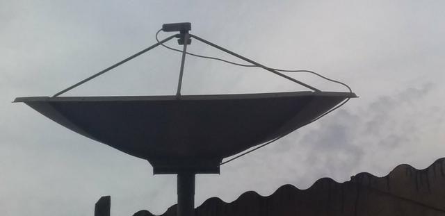 Desapegando 50 reais antena sky