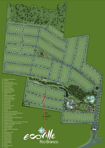 Vendo terreno com menor preço no Ecoville