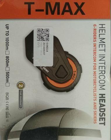 Intercomunicador moto capacete