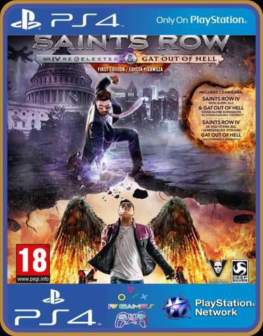 Ps4 Saints row gat out of hell - Foto 2