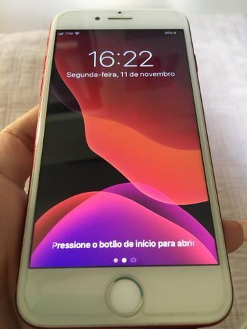 IPhone 7 128GB Vermelho (Edição Limitada) Aceito cartões
