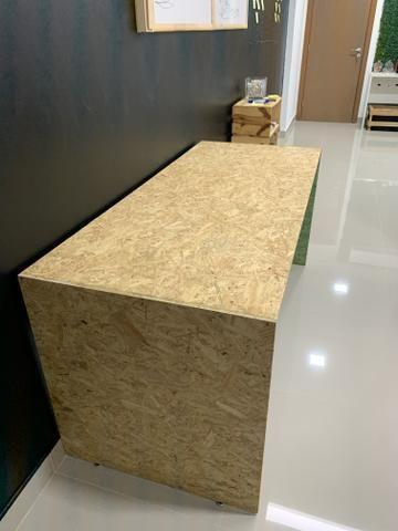 Mesa de madeira sustentável (duas) - Foto 2