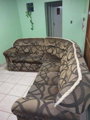 Vendo sofá de canto 6 lugares