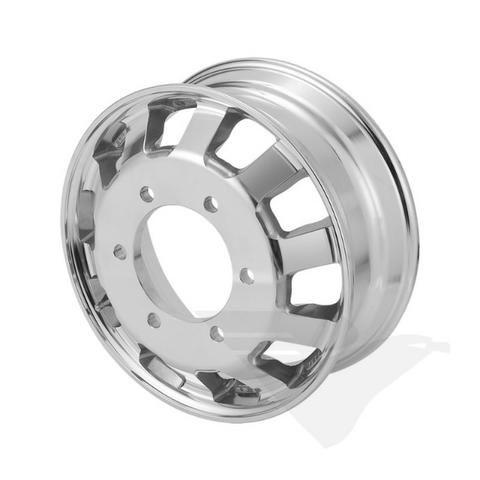 Roda de ferro e aluminio para caminhoes e carretas