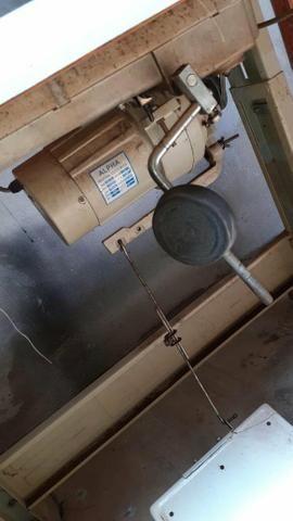 Maquina de costura couro transporte duplo - Foto 2