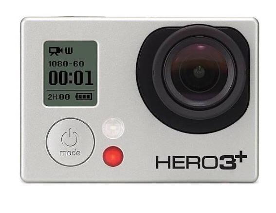GoPro Hero 3+ Black Edition com Acessórios