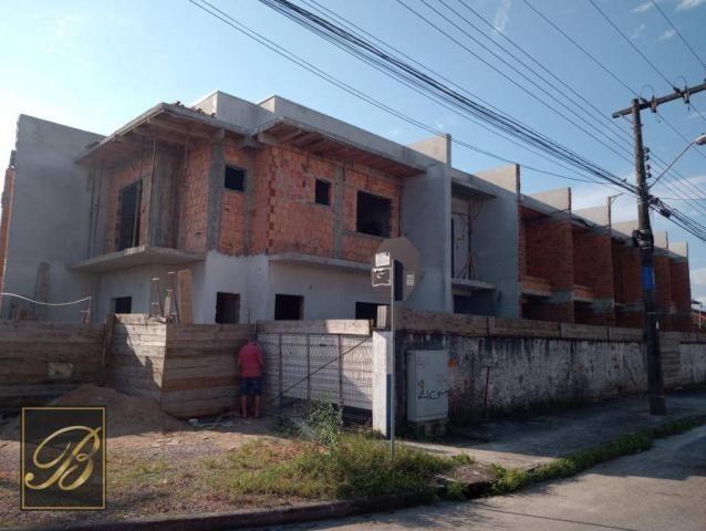 Sobrado com 2 dormitórios à venda, 66 m² por R$ 190.000 - Jardim Iririú - Joinville/SC - Foto 7
