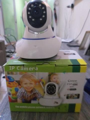 Câmera ip dou instalada