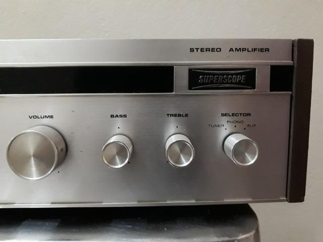 Amplificador Superscope / Marantz Model A-245 - Foto 3