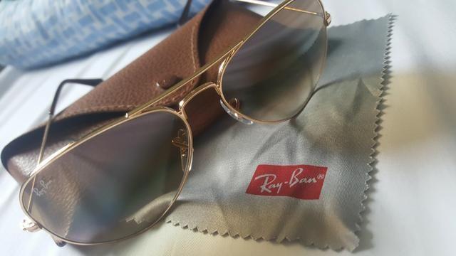 710031b1252e9 Óculos Ray Ban Original Feminino, RB3025 Aviator - Bijouterias ...