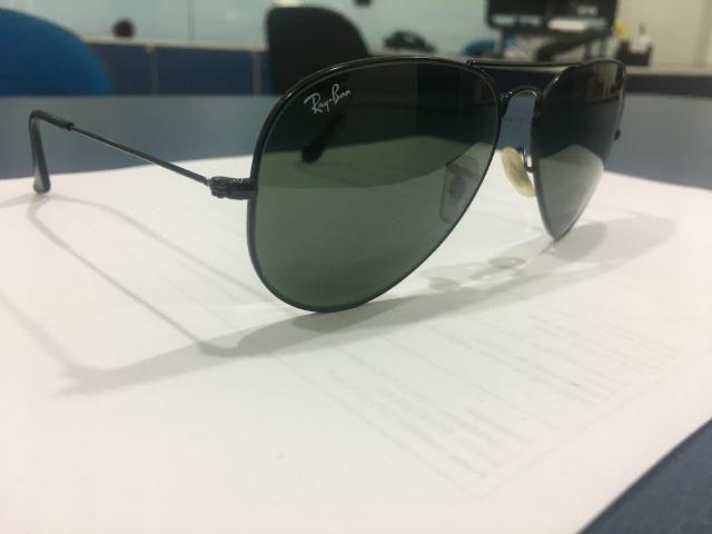 Óculos Ray-Ban Aviador Clássico - Bijouterias, relógios e acessórios ... 3c13cdf943