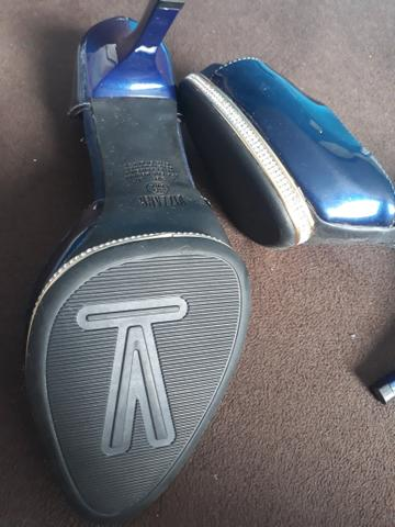 f936dc5e21 Sapato novo vizzano azul marinho - Roupas e calçados - Forquilha ...