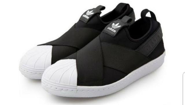 de69d950bc1 Tênis adidas slip on preto 35 novo - Roupas e calçados - Protásio ...