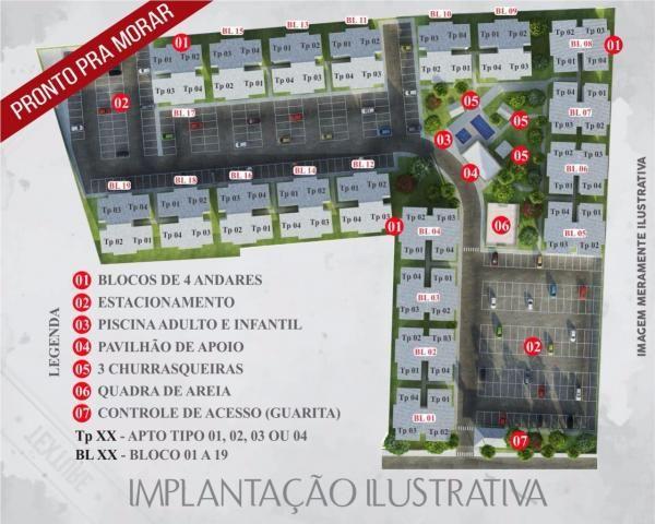Residencial itaoca. aptos 02 quartos! - Foto 13